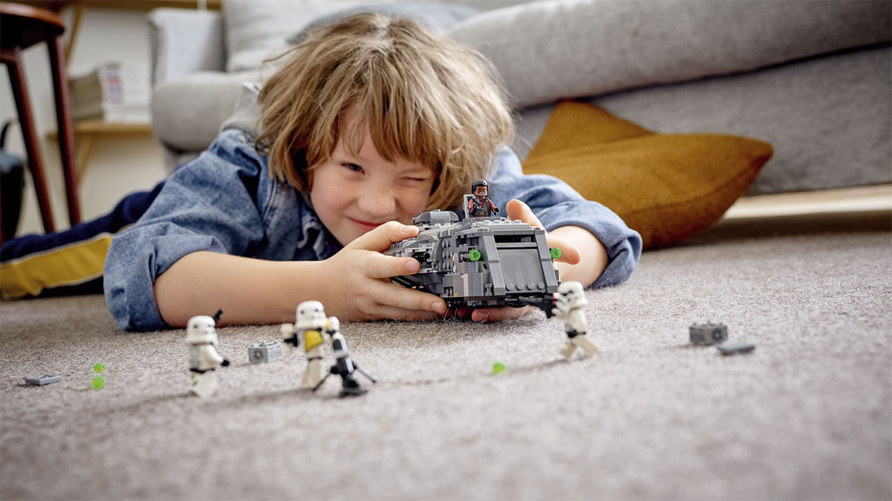 LEGO Star Wars Imperial Armored Marauder lifestyle image