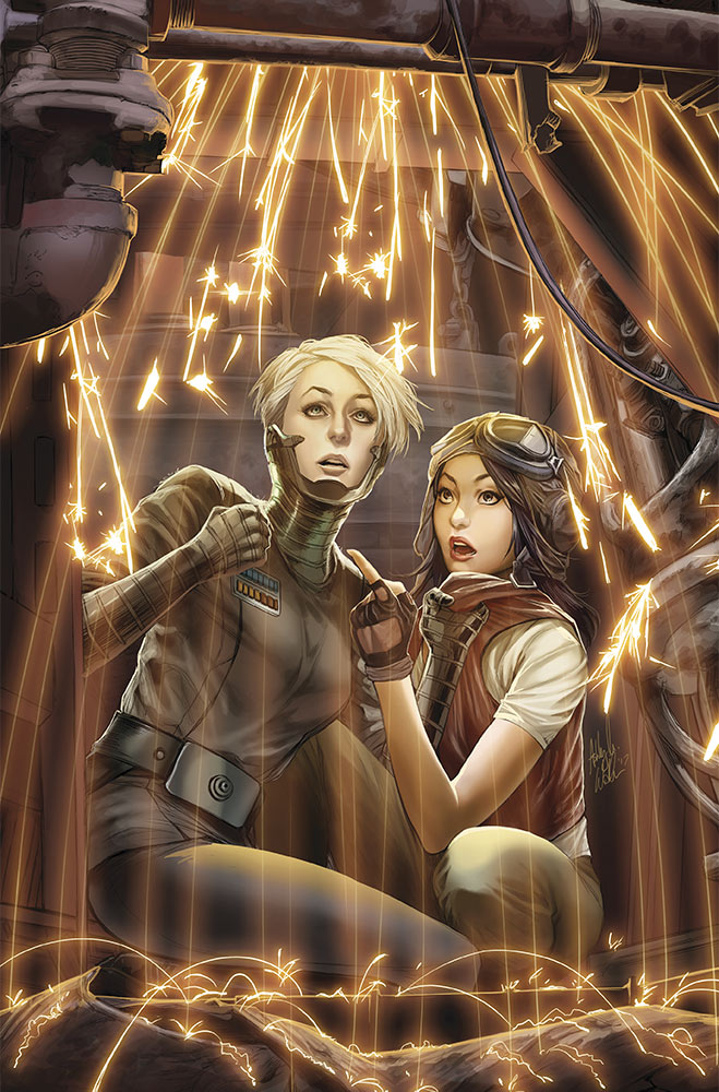 Magna Tolvan and Doctor Aphra