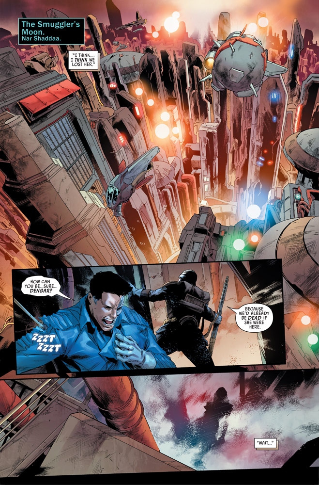 Star Wars: War of the Bounty Hunters #14 preview 2