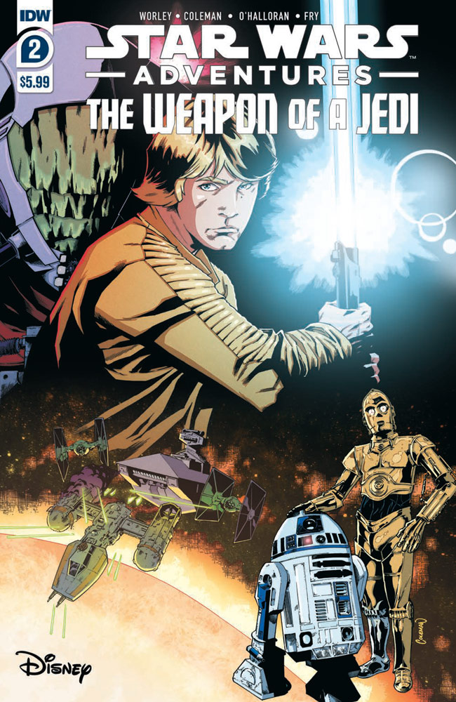 Star Wars Adventures: The Weapon of a Jedi #2 preview 1