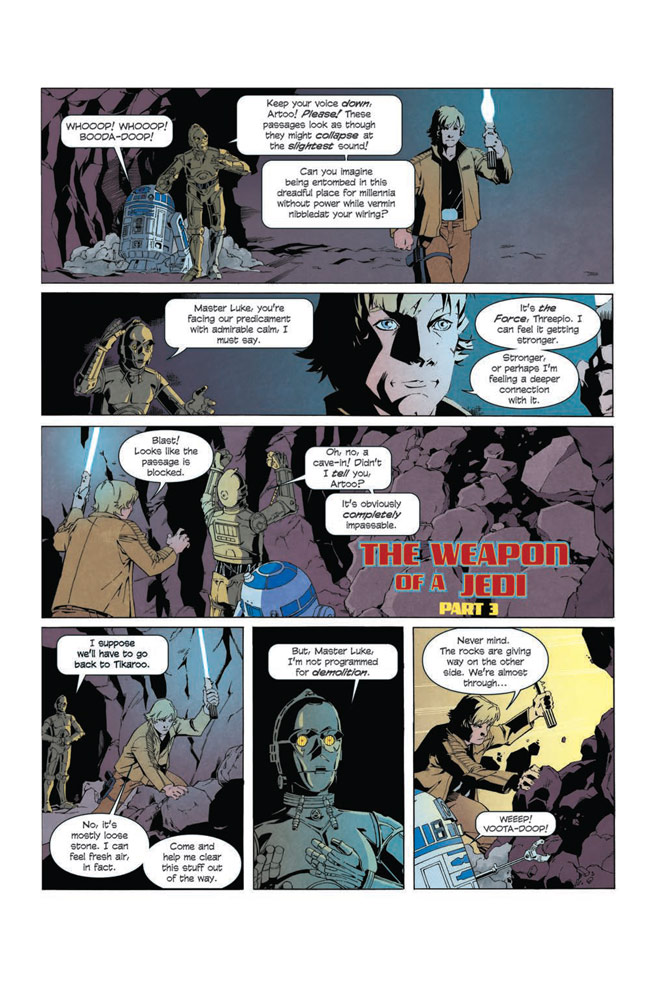 Star Wars Adventures: The Weapon of a Jedi #2 preview 3