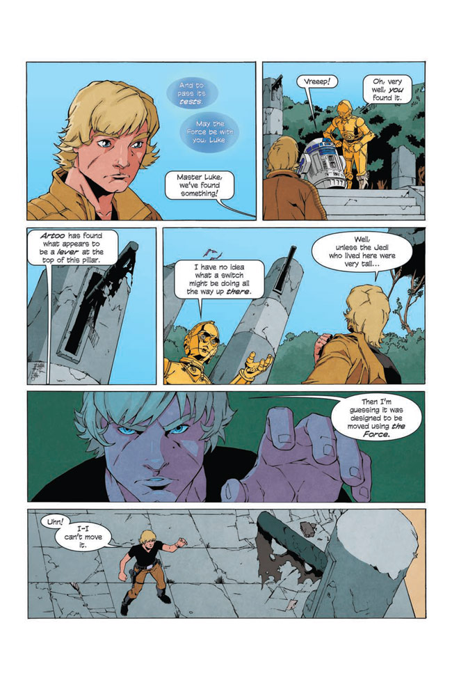 Star Wars Adventures: The Weapon of a Jedi #2 preview 6