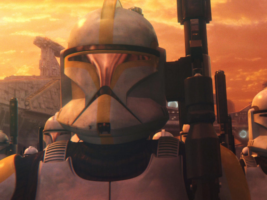 Clones from Attack of the Clones