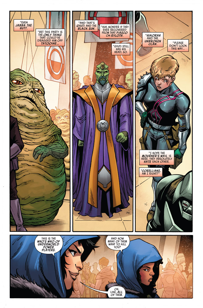 Star Wars: Doctor Aphra#12 preview 3
