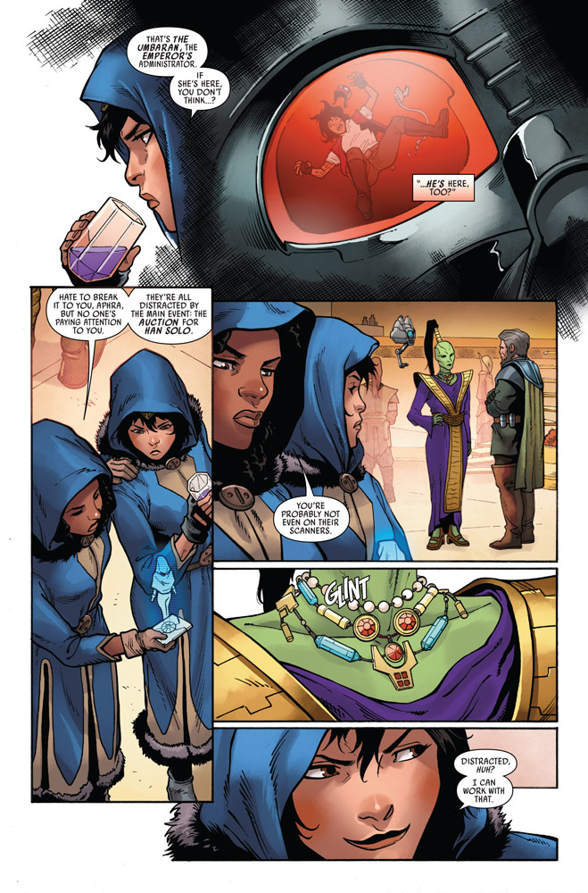 Star Wars: Doctor Aphra#12 preview 5