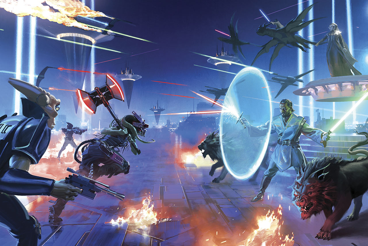 Star Wars: The High Republic: The Rising Storm special edition cover wrap