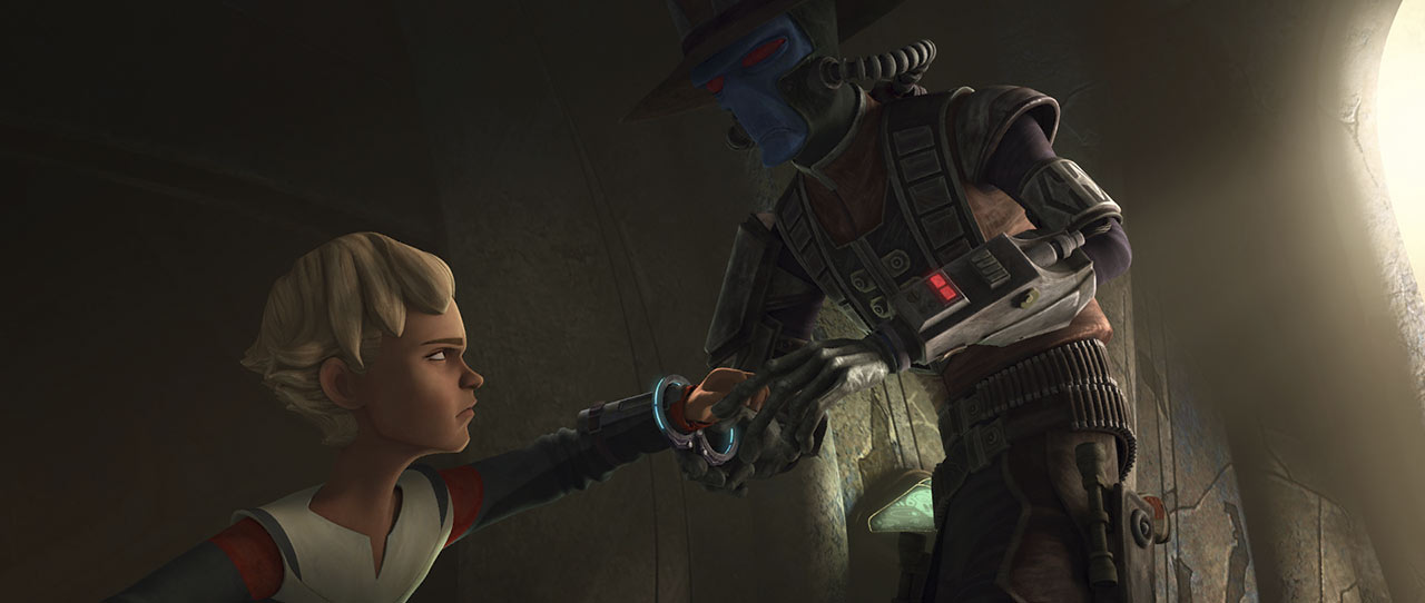 """Omega and Cad Bane in The Bad Batch: """"Bounty Lost"""""""