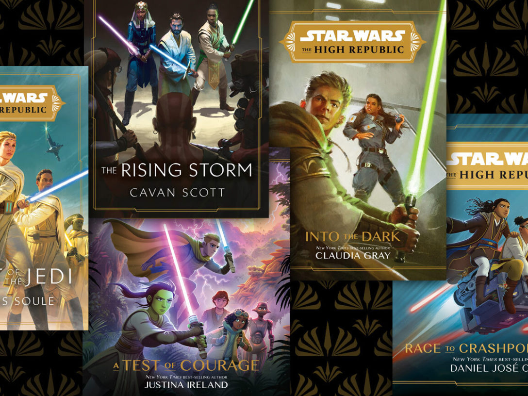 Light of the Jedi, A Test of Courage, Into the Dark, Marvel's Star Wars: The High Republic and IDW's Star Wars: The High Republic Adventures