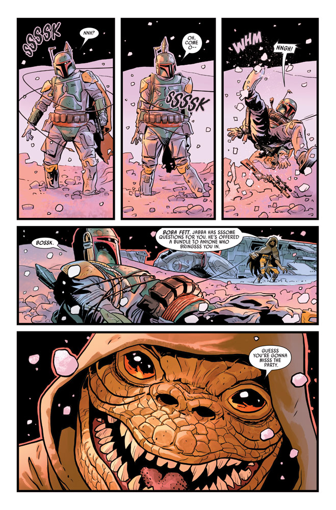 War of the Bounty Hunters#2 preview 2