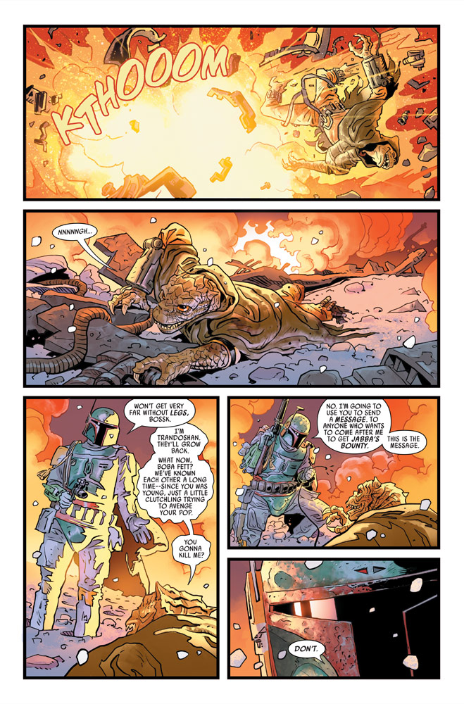 War of the Bounty Hunters#2 preview 4