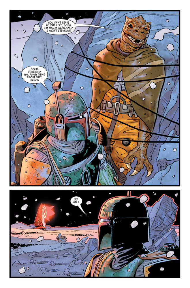 War of the Bounty Hunters#2 preview 5