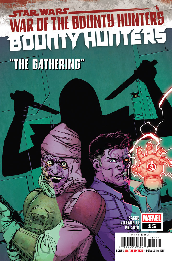 Bounty Hunters number 15 cover