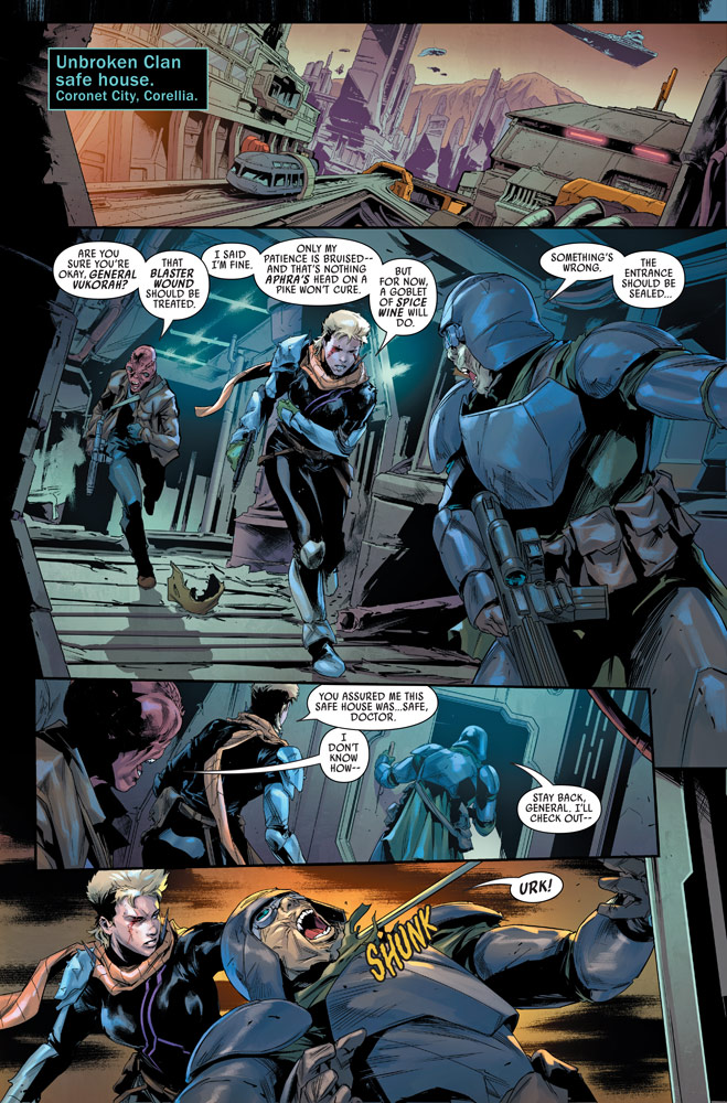 Bounty Hunters number 15 preview 1