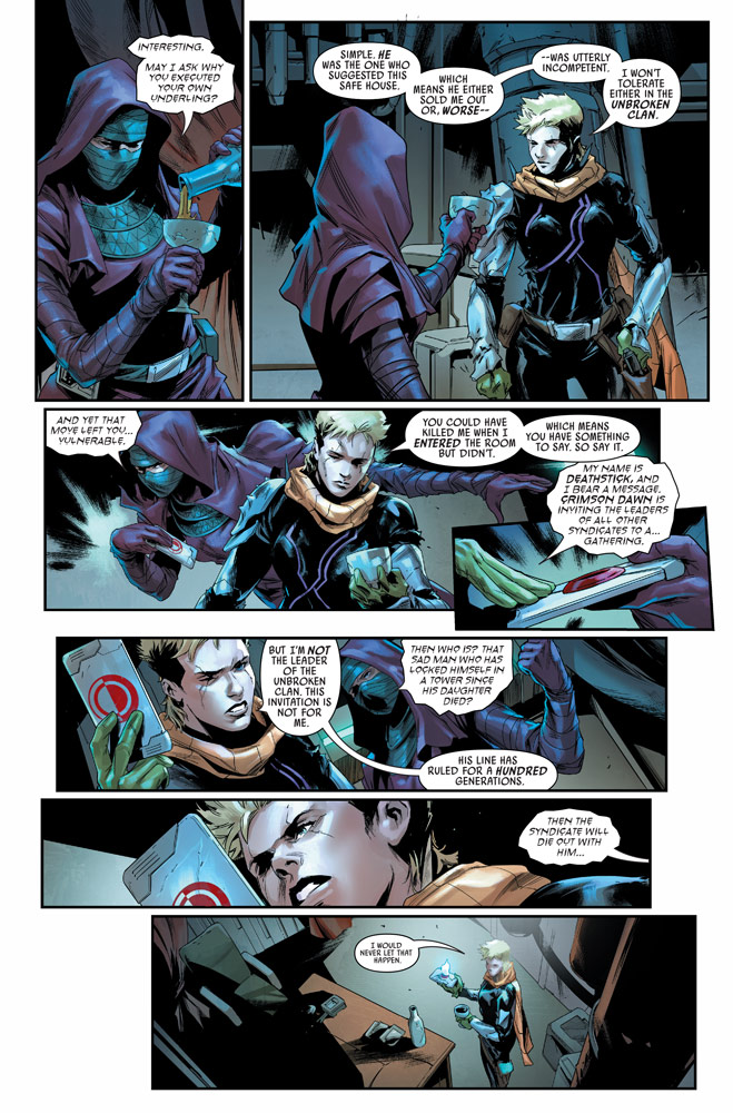Bounty Hunters number 15 preview 3