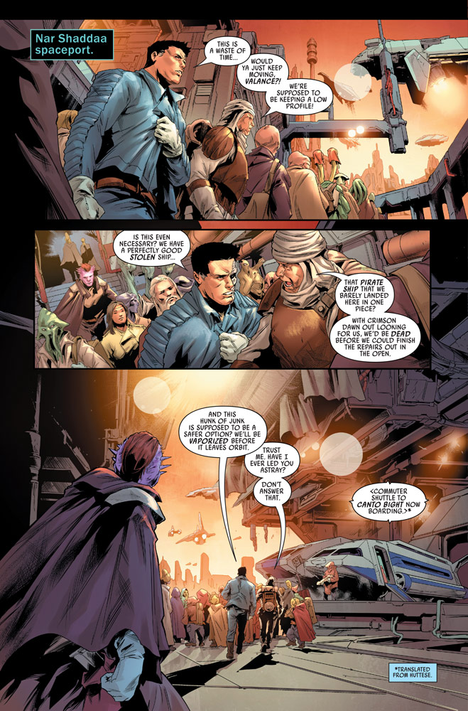 Bounty Hunters number 15 preview 4