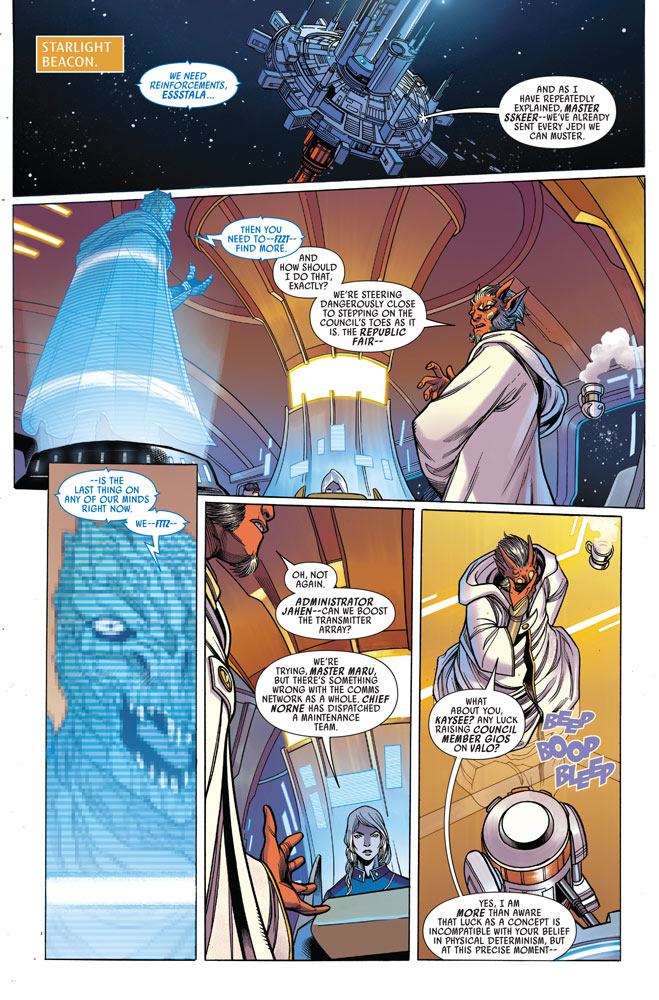 Star Wars: The High Republic#8 preview 2