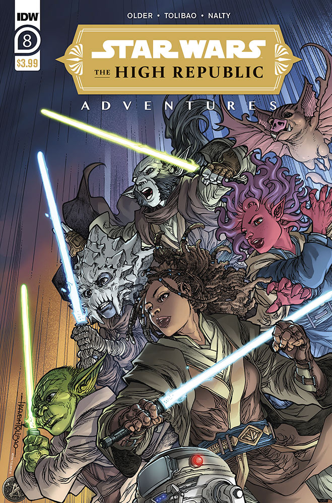 Star Wars: The High Republic Adventures #8 cover