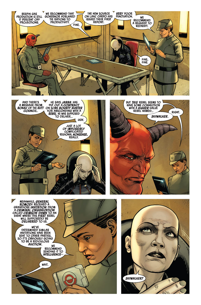 Marvel's Star Wars: Darth Vader #14 preview page