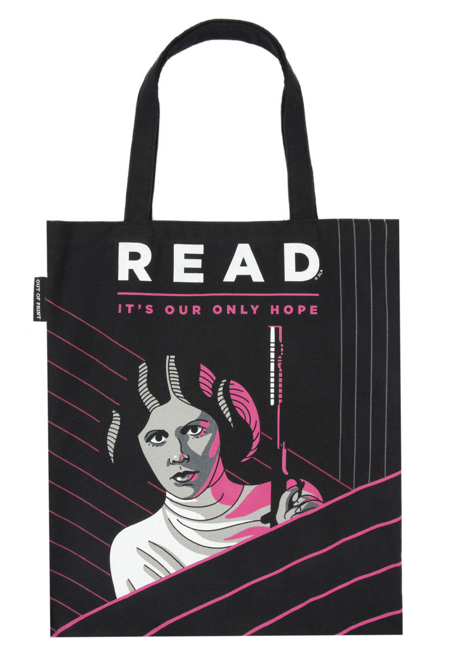 Princess Leia READ Tote Bag fromOut of Print