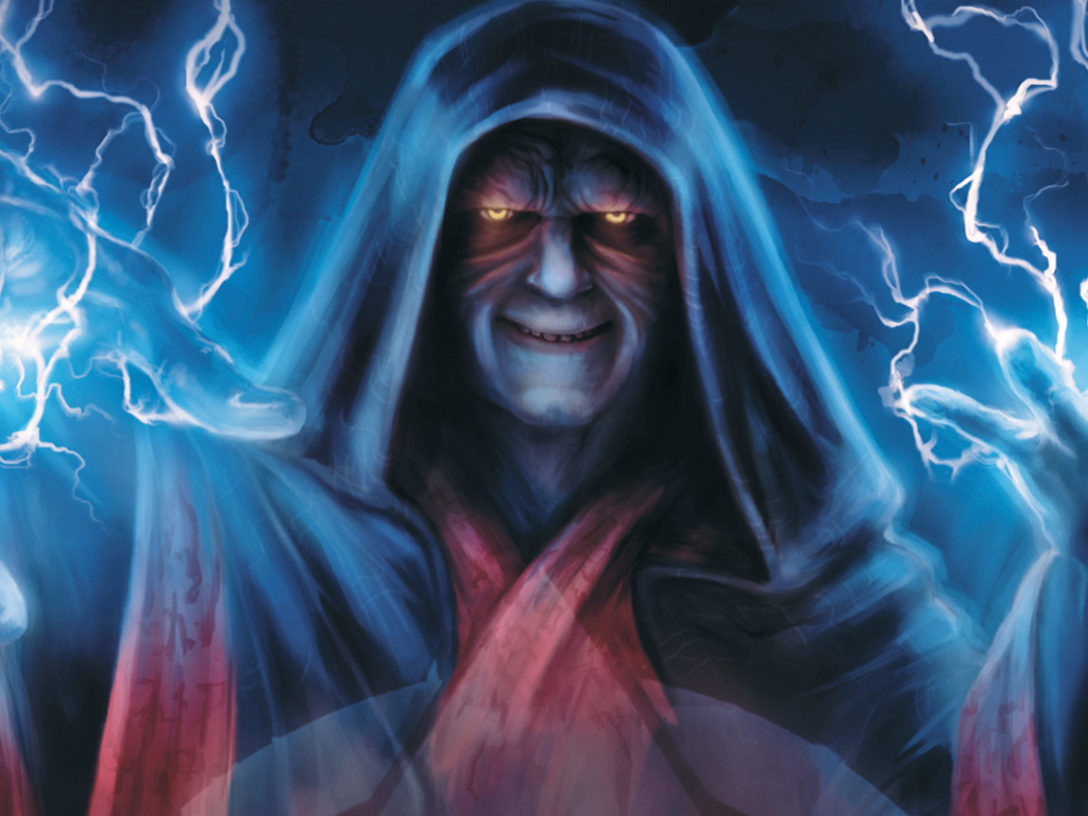 Star Wars: The Secrets of the Sith - Palpatine on cover