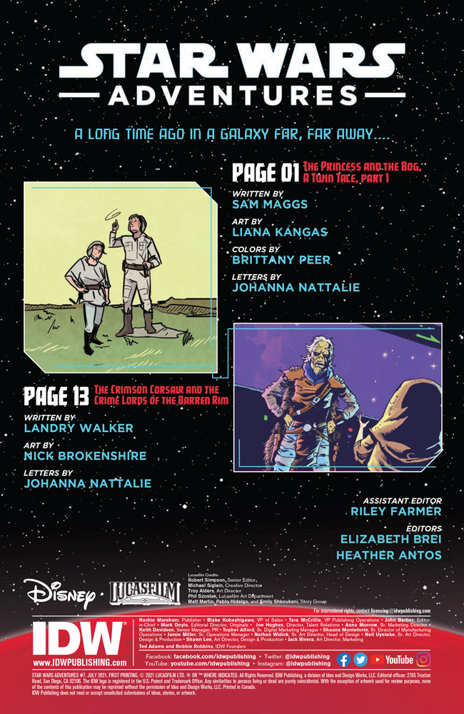 Star Wars Adventures#7 preview 2