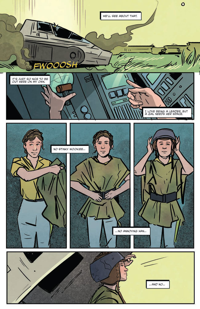Star Wars Adventures#7 preview 4