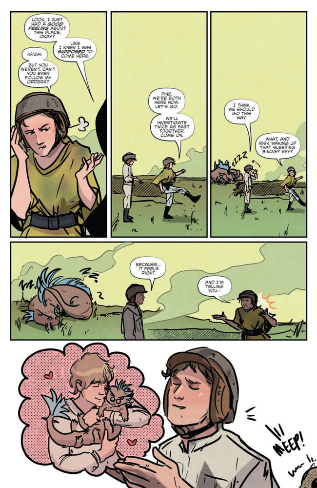 Star Wars Adventures#7 preview 7