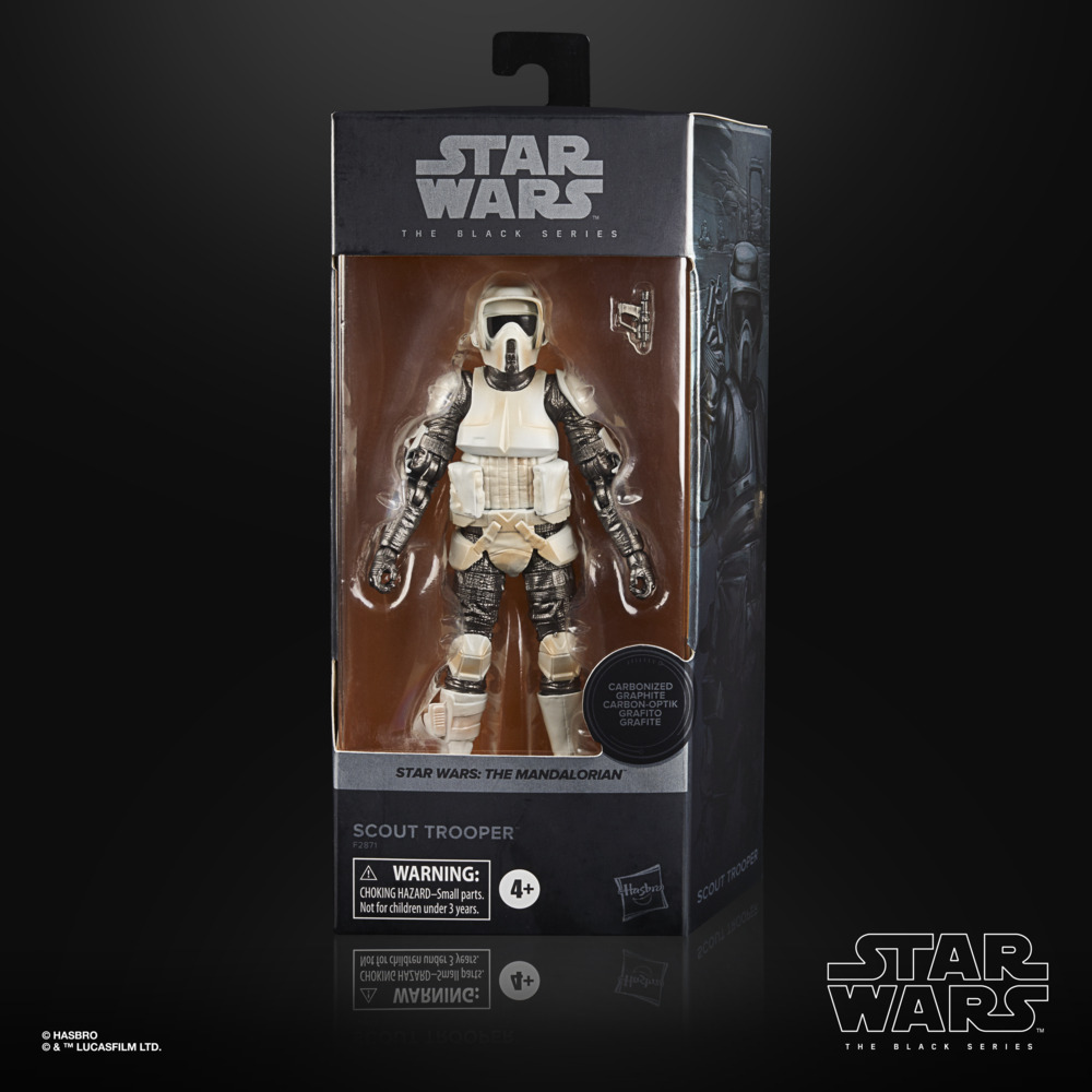 Scout Trooper - Star Wars: The Black Series Carbonized Collection