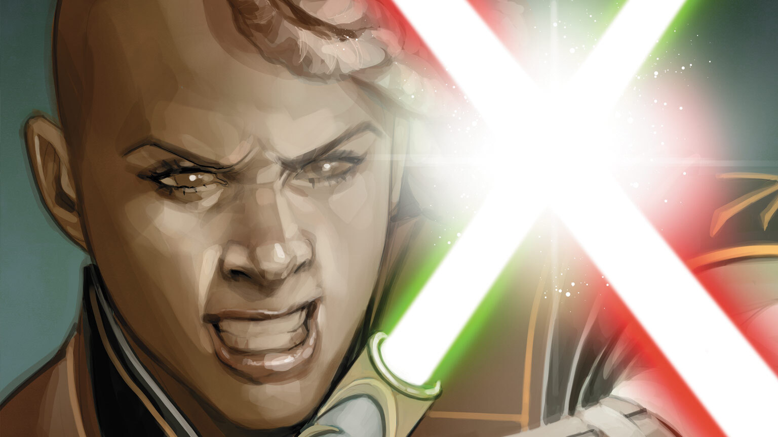 The cover of Star Wars: The High Republic #7.