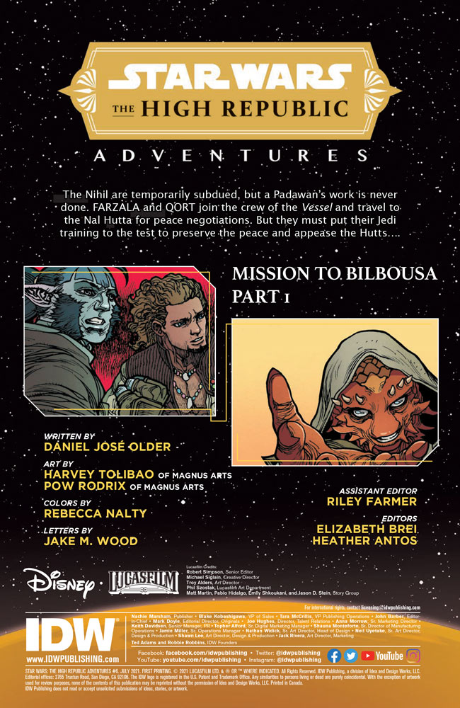 Star Wars: The High Republic Adventures#6 preview 2