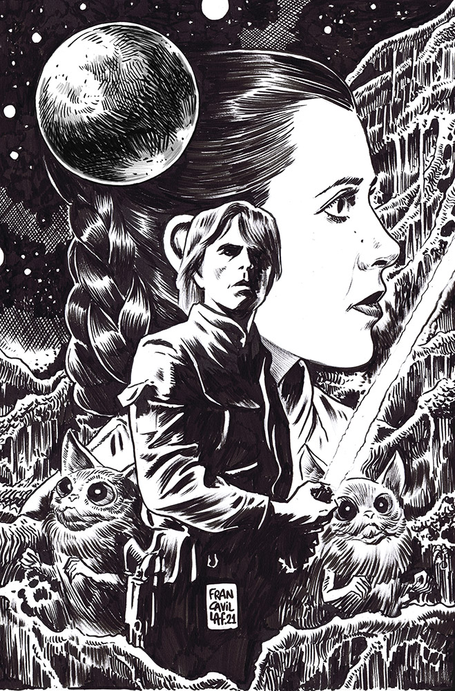 Star Wars Adventures #8 variant cover.