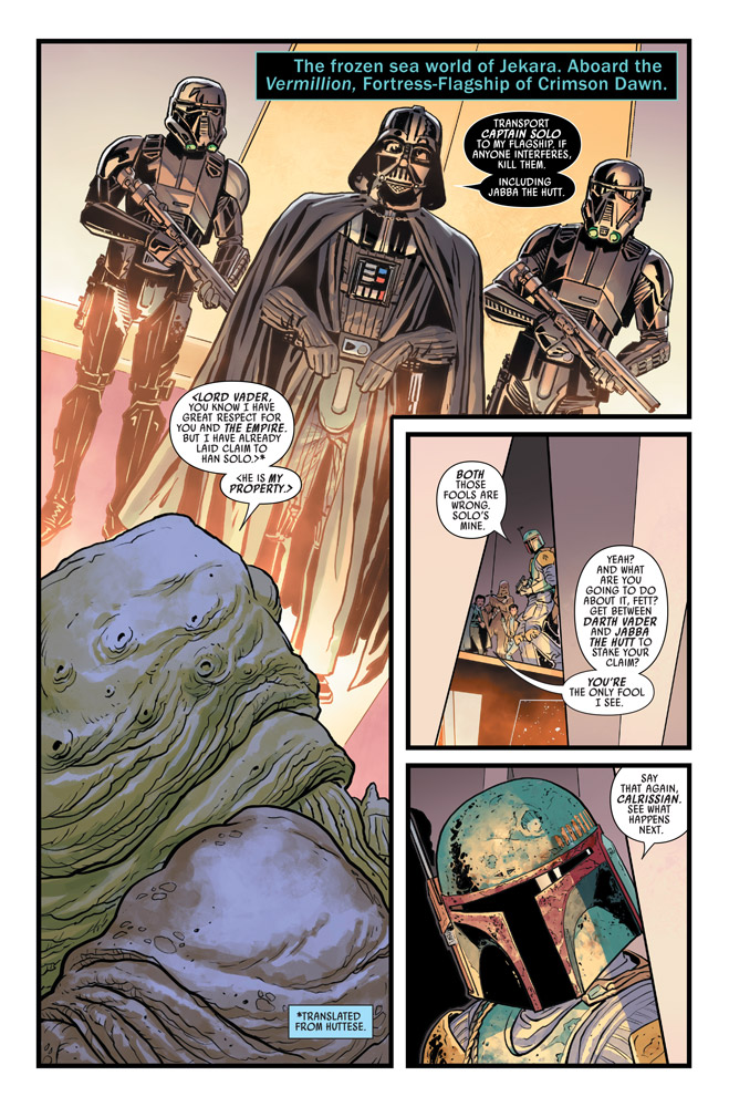 Star Wars: The War of the Bounty Hunters #3 preview 2
