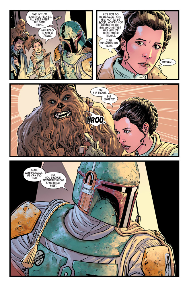 Star Wars: The War of the Bounty Hunters #3 preview 3