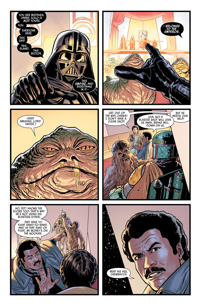 Star Wars: The War of the Bounty Hunters #3 preview 6