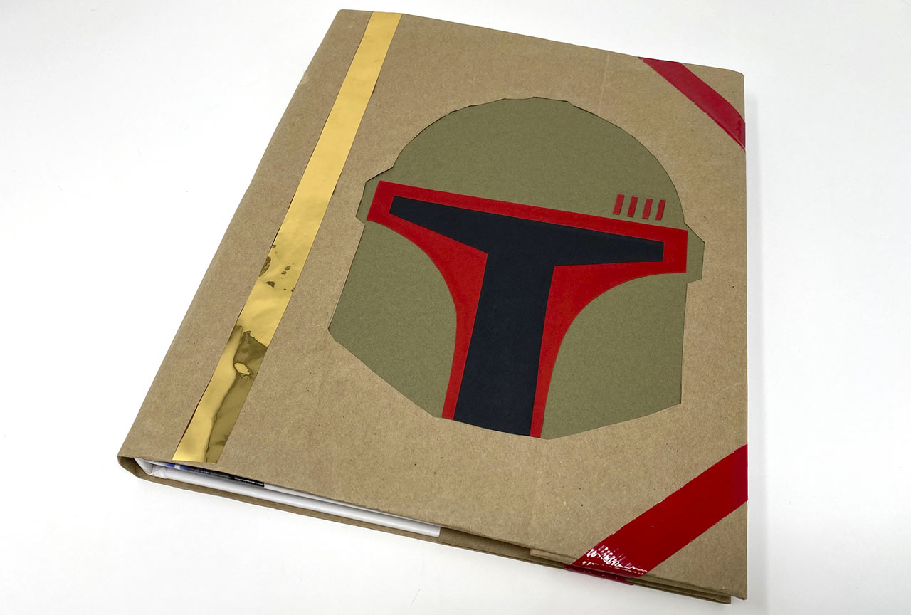 The Book (Cover) of Boba Fett step 14