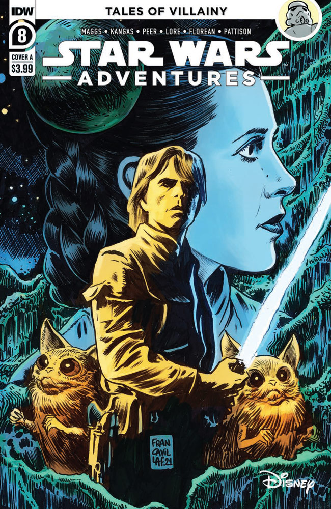 Star Wars Adventures#8 preview 1