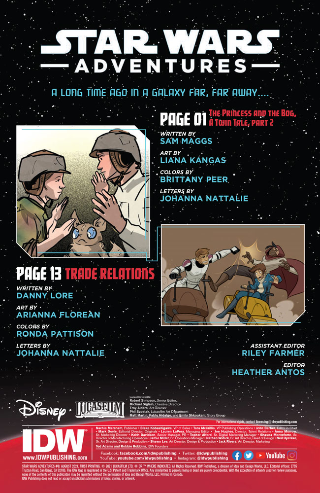 Star Wars Adventures#8 preview 2