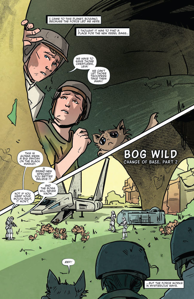 Star Wars Adventures#8 preview 3