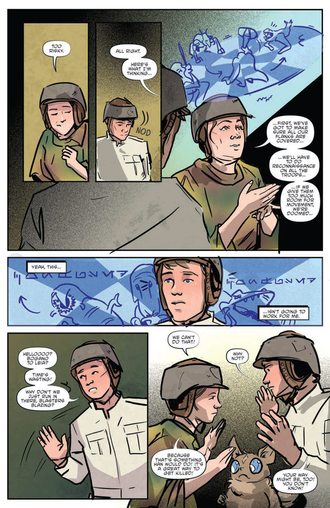 Star Wars Adventures#8 preview 5