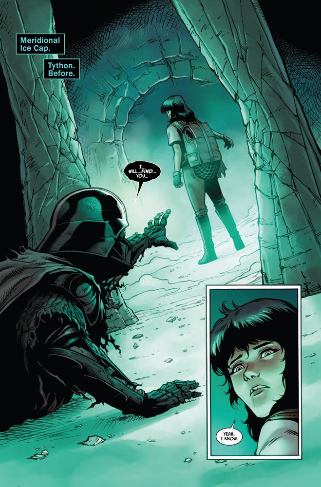 Page 1 of Marvel's Star Wars: Doctor Aphra #13.