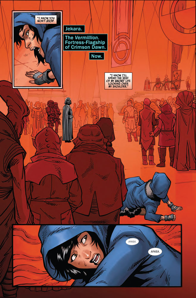 Page 2 of Marvel's Star Wars: Doctor Aphra #13.