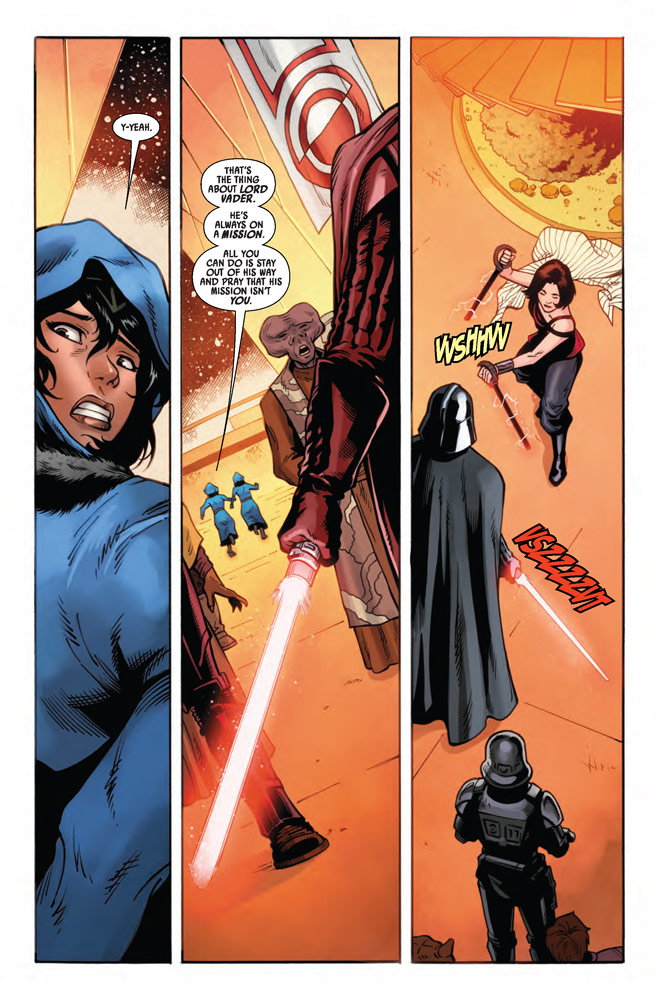 Page 4 of Marvel's Star Wars: Doctor Aphra #13.