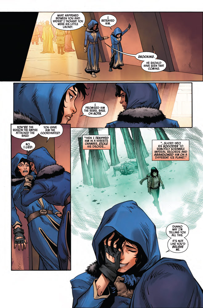 Page 5 of Marvel's Star Wars: Doctor Aphra #13.