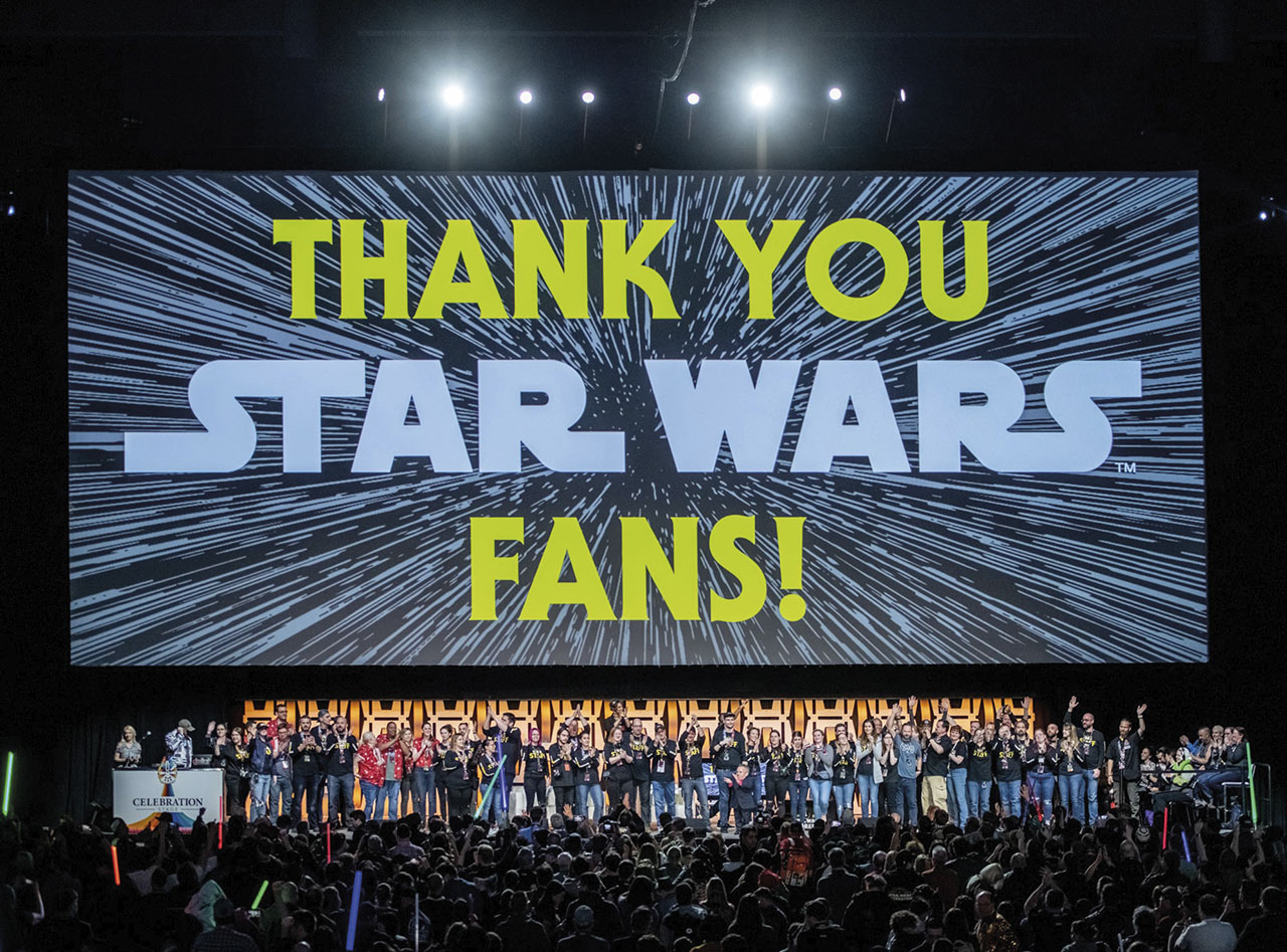 """Star Wars Celebration """"Thank You"""" to fans"""