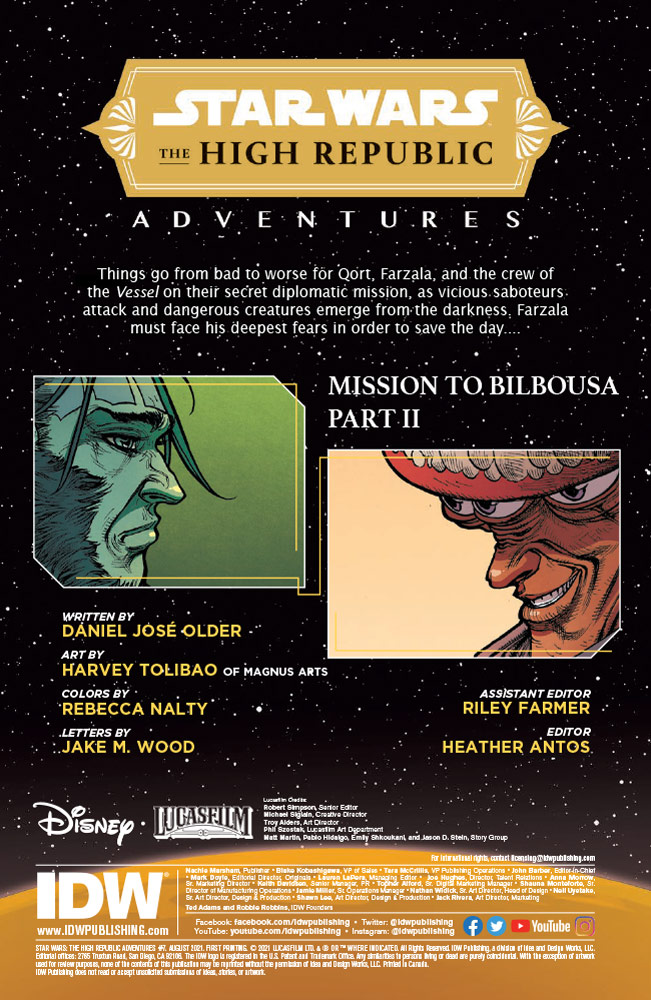 Star Wars: The High Republic Adventures #7 preview 2