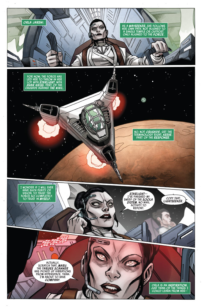 Star Wars: The High Republic#9 preview 2