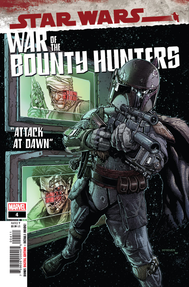 War of the Bounty Hunters#4 preview 1
