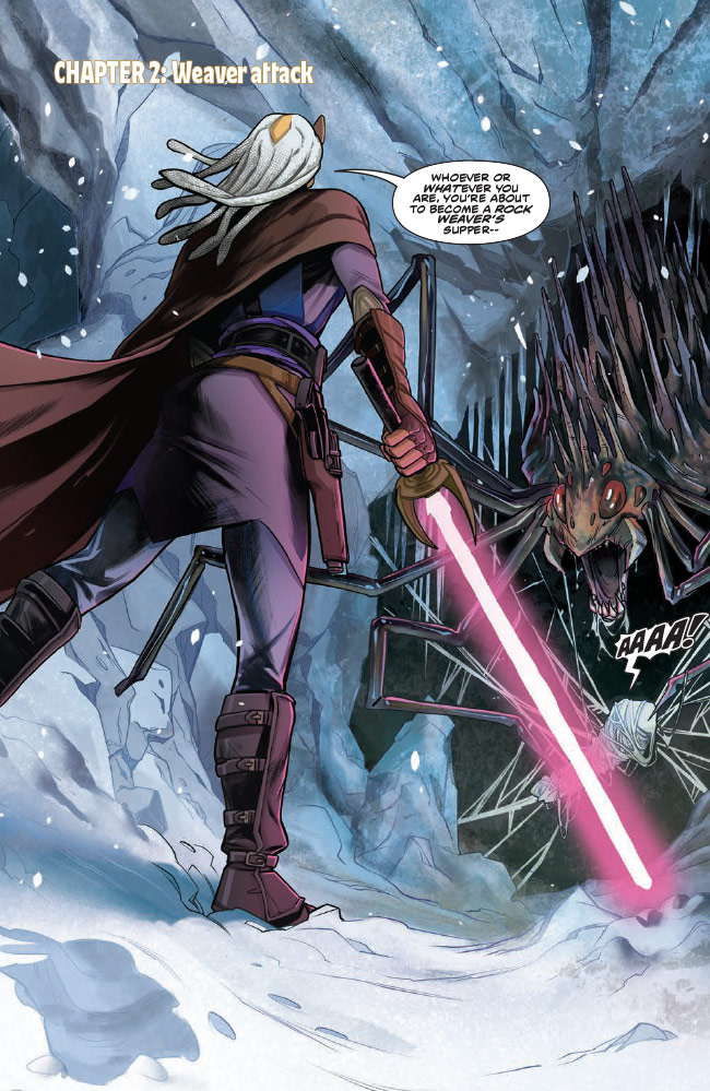 Star Wars: The High Republic:The Monster of Temple Peak issue #2 preview 3