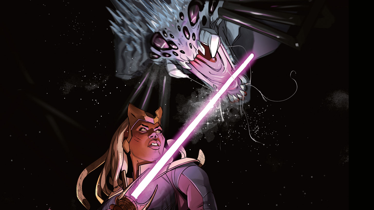 Star Wars: The High Republic:The Monster of Temple Peak issue #2 cover