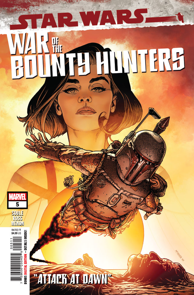 War of the Bounty Hunters #5 cover art.